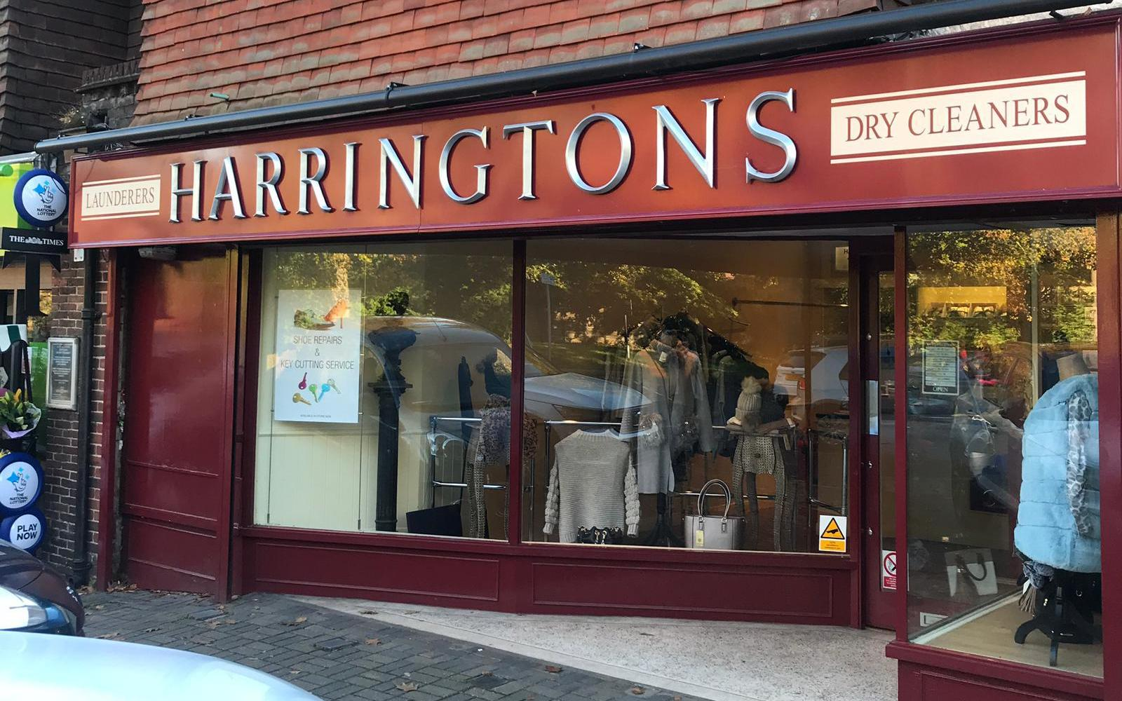 Harringtons Drycleaners